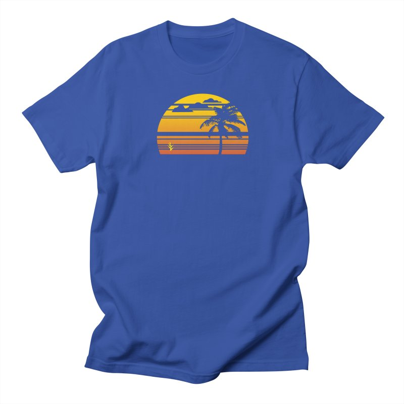 Palm Sunset Men's T-Shirt by Caribea