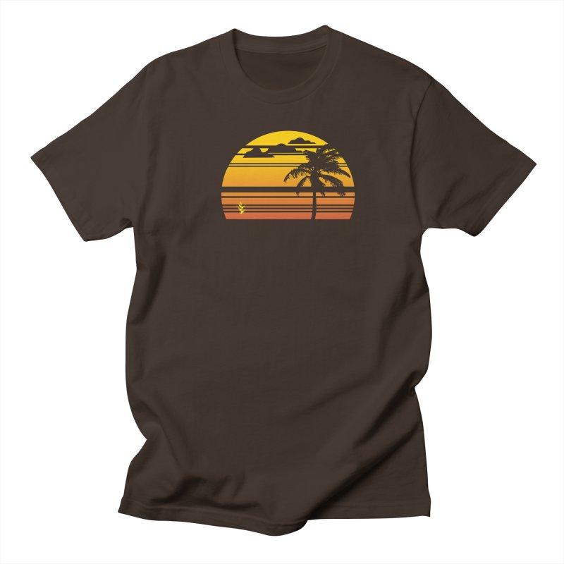 Palm Sunset Men's Regular T-Shirt by Caribea