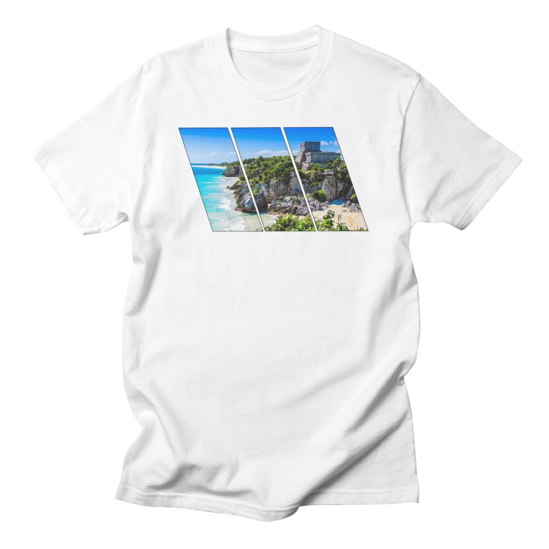 Tulum Beach Slants Men's T-Shirt by Caribea