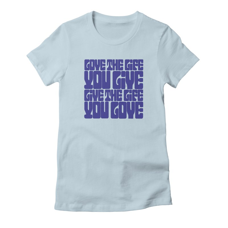 Love Life Tee Women's T-Shirt by Caribea