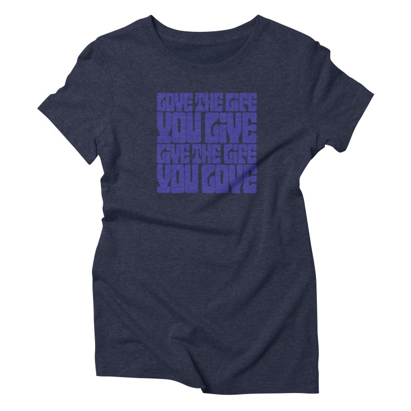 Love Life Tee Women's Triblend T-Shirt by Caribea