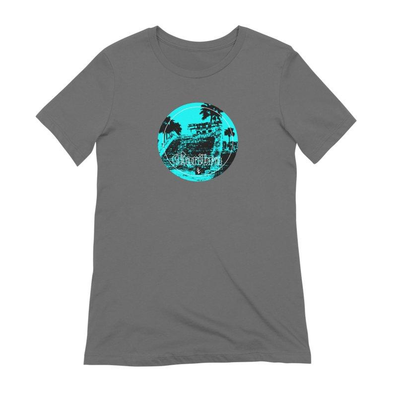 Blue Mayan Women's Extra Soft T-Shirt by Caribea