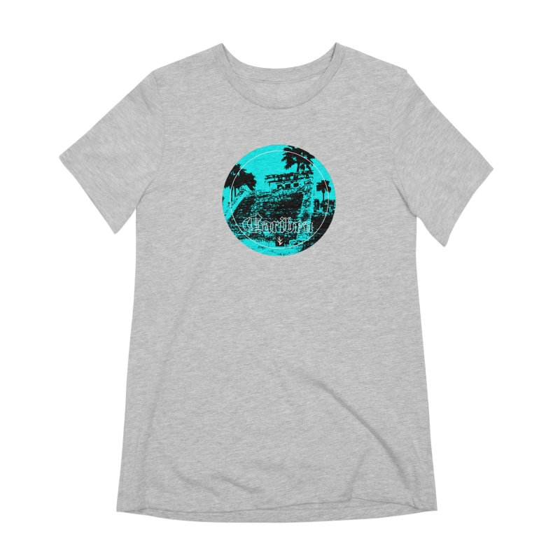 Blue Mayan Women's Extra Soft T-Shirt by Caribea