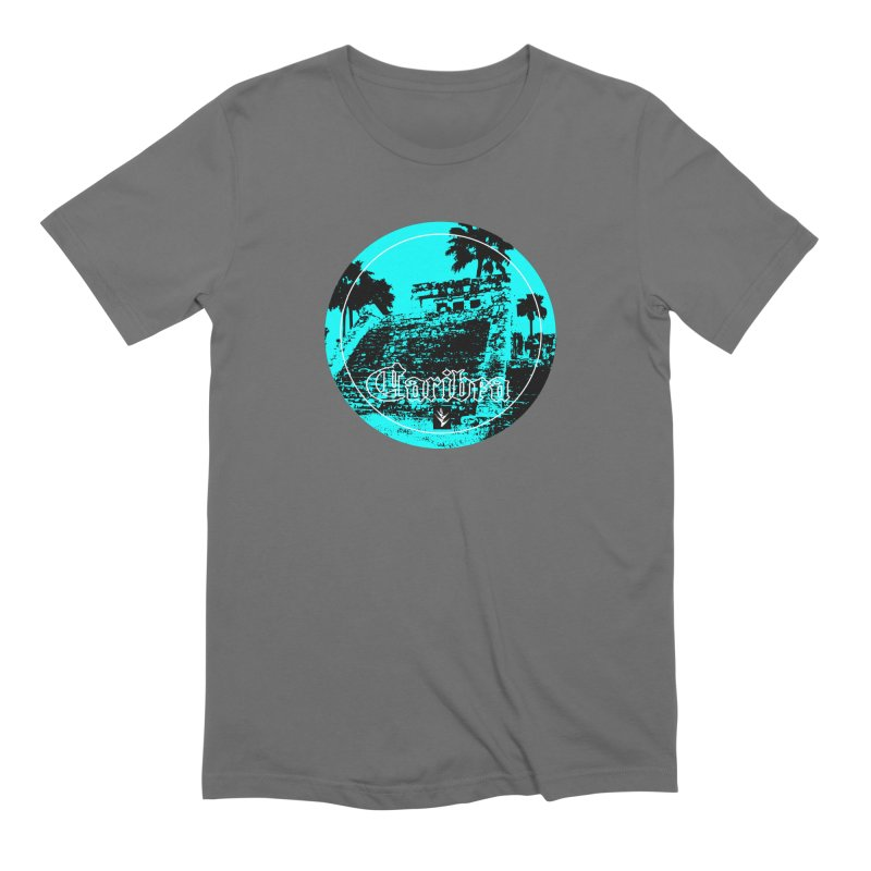 Blue Mayan Men's Extra Soft T-Shirt by Caribea