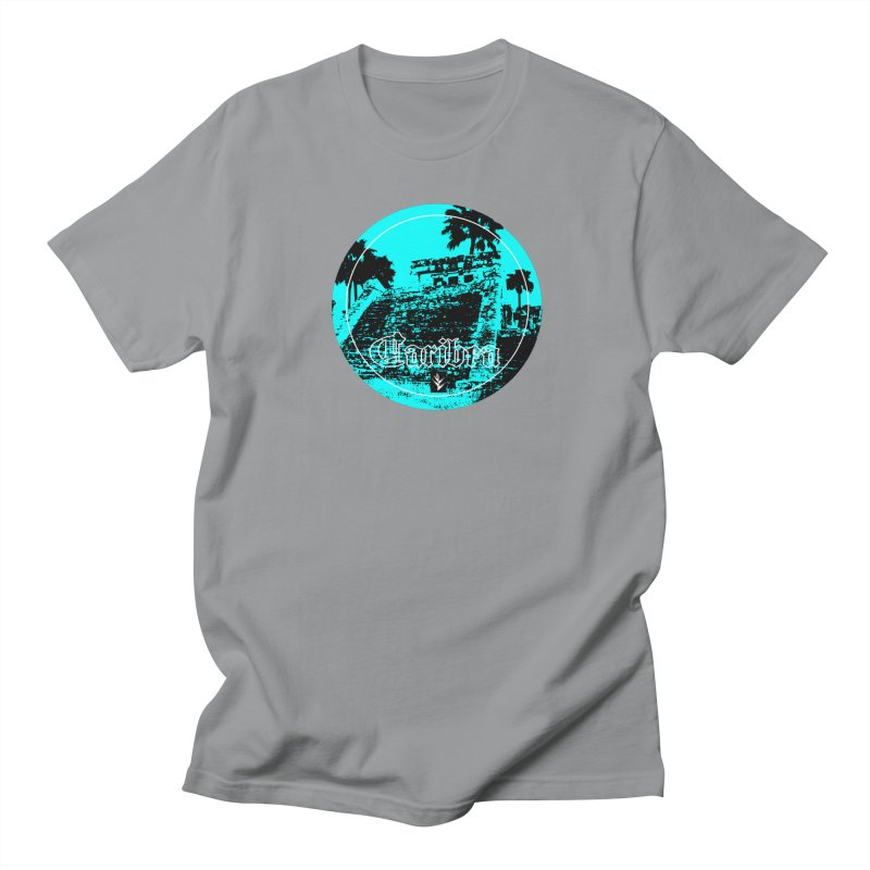 Blue Mayan Women's Regular Unisex T-Shirt by Caribea