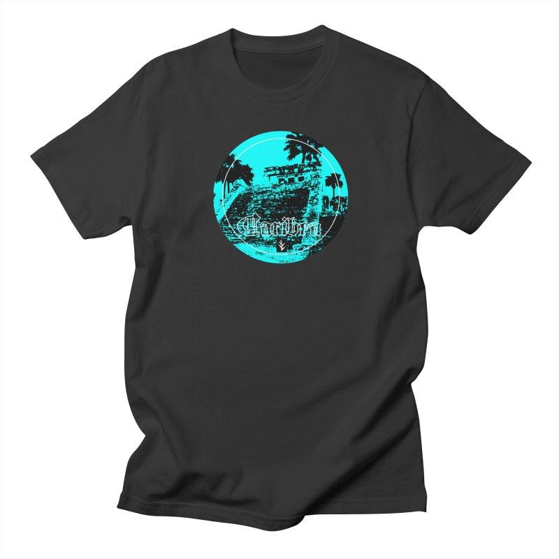 Blue Mayan Women's Regular Unisex T-Shirt by Caribea