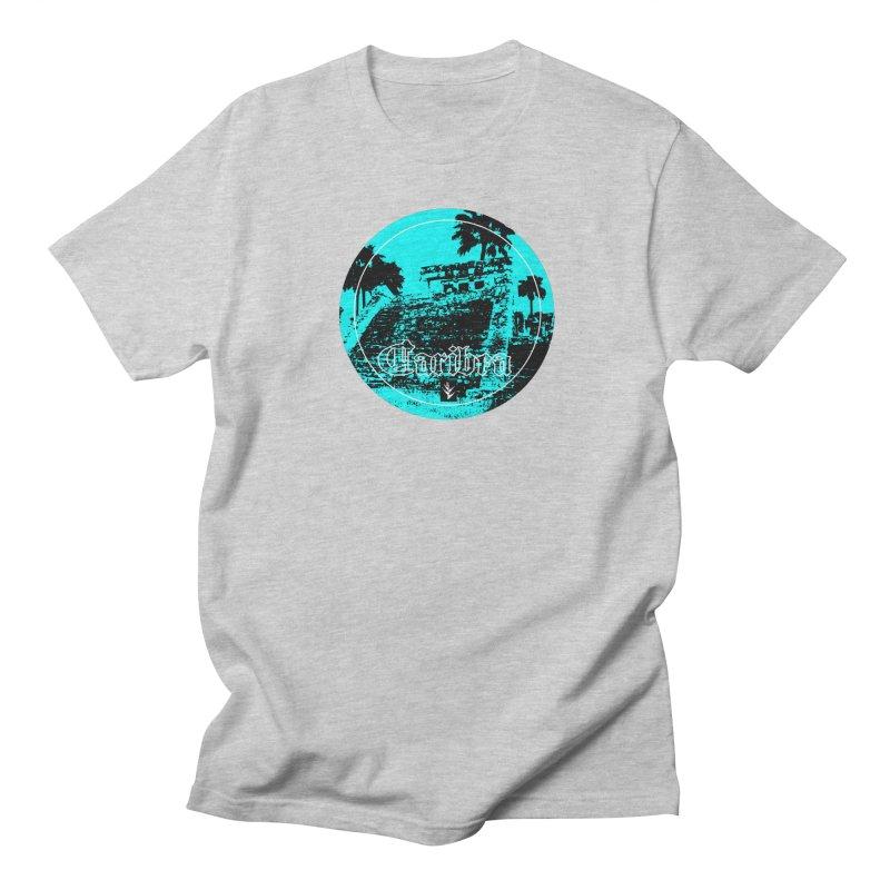 Blue Mayan Men's Regular T-Shirt by Caribea