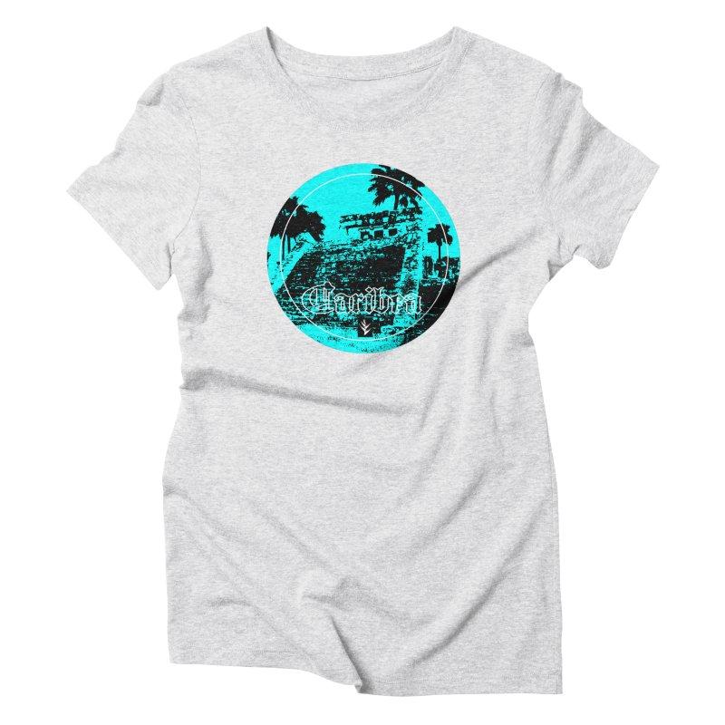 Blue Mayan Women's T-Shirt by Caribea