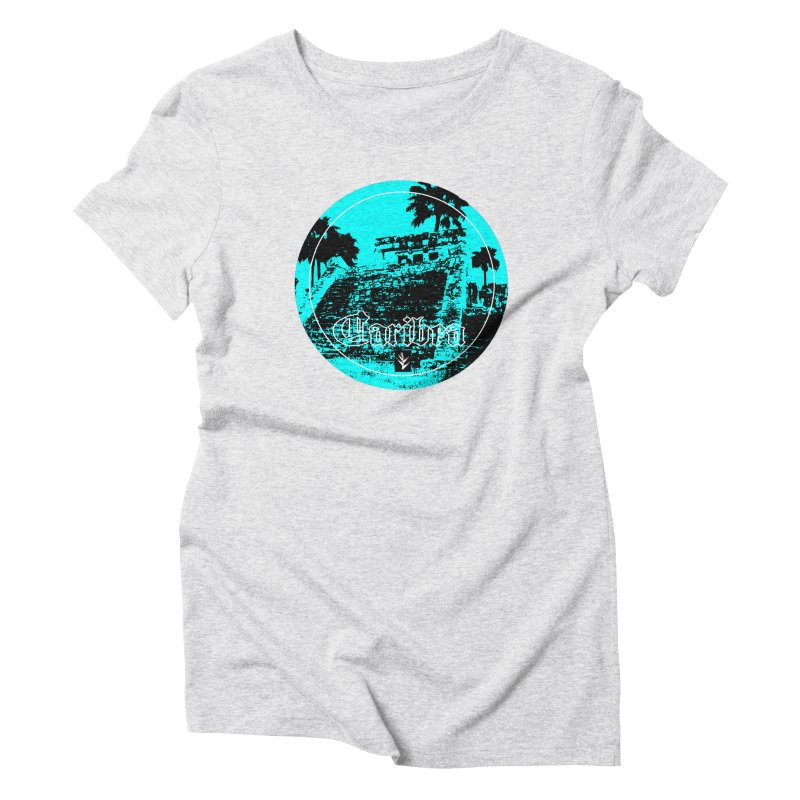 Blue Mayan Women's T-Shirt by Caribea