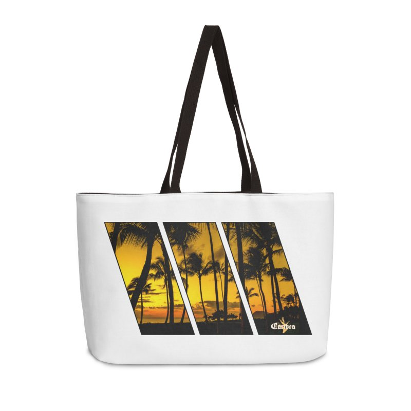 Sunset Palms Accessories Weekender Bag Bag by Caribea