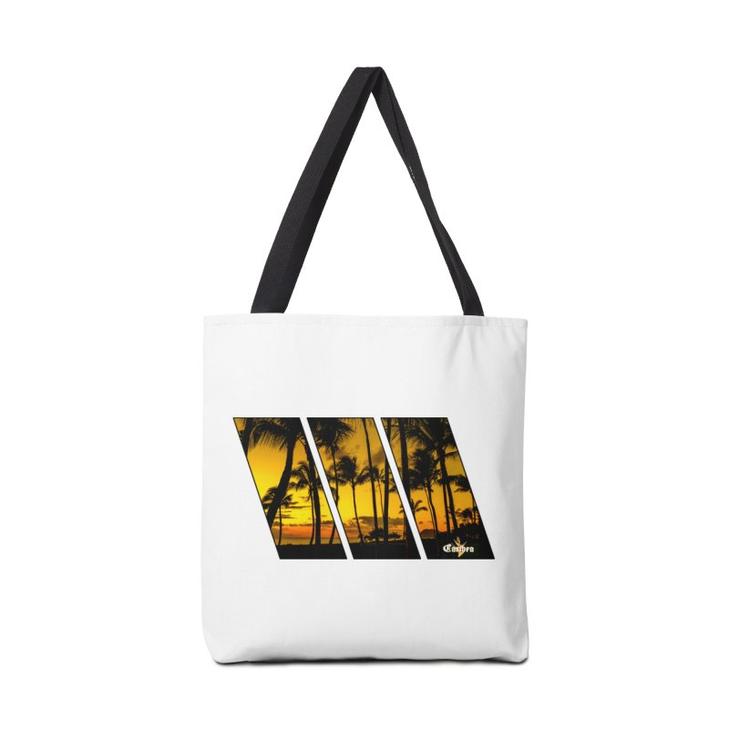 Sunset Palms Accessories Tote Bag Bag by Caribea