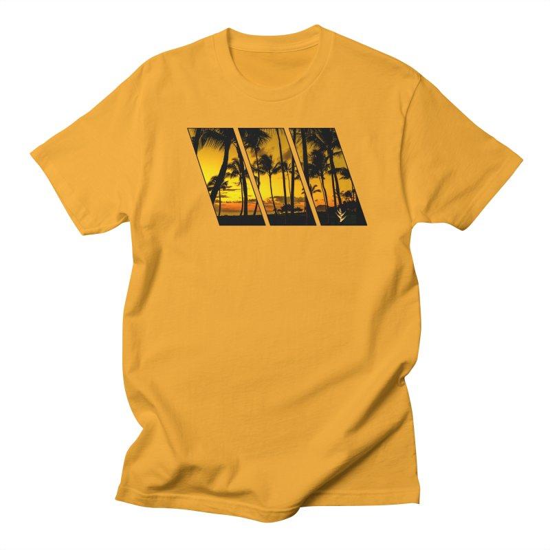 Sunset Palms Men's Regular T-Shirt by Caribea