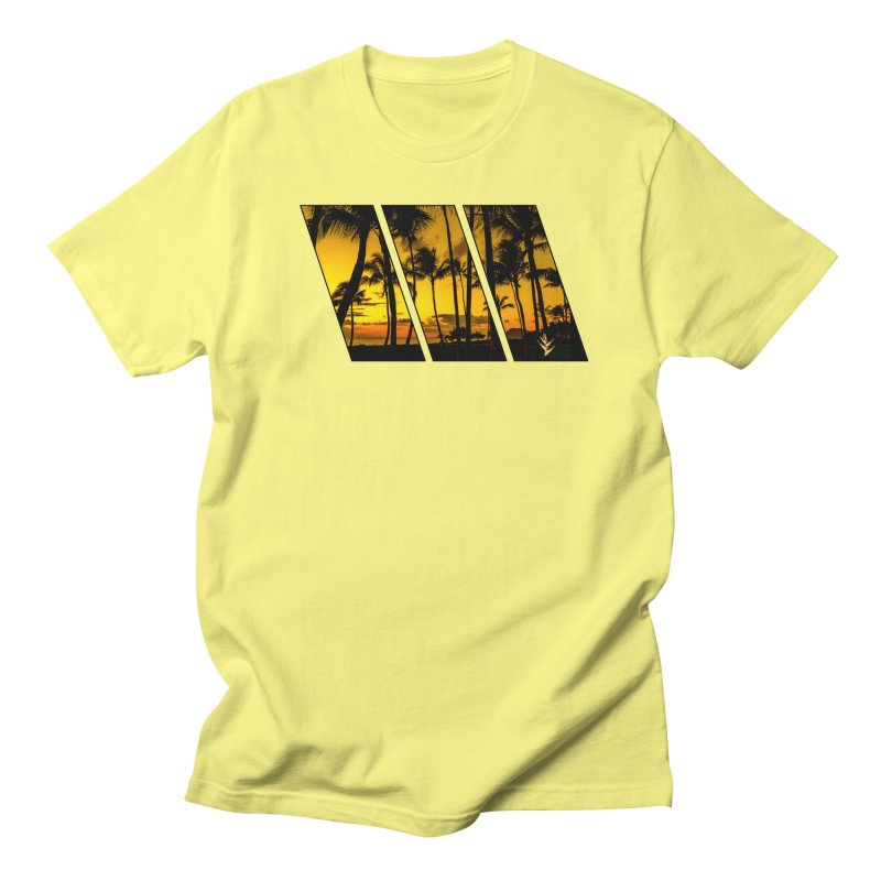 Sunset Palms Men's T-Shirt by Caribea