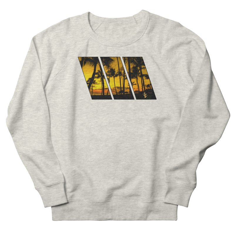 Sunset Palms Men's Sweatshirt by Caribea