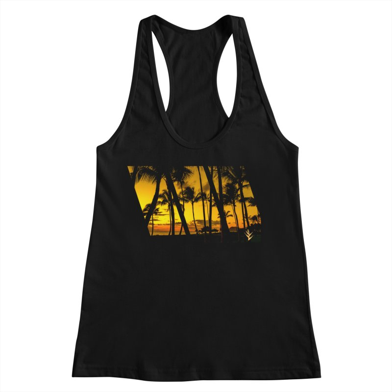 Sunset Palms Women's Tank by Caribea