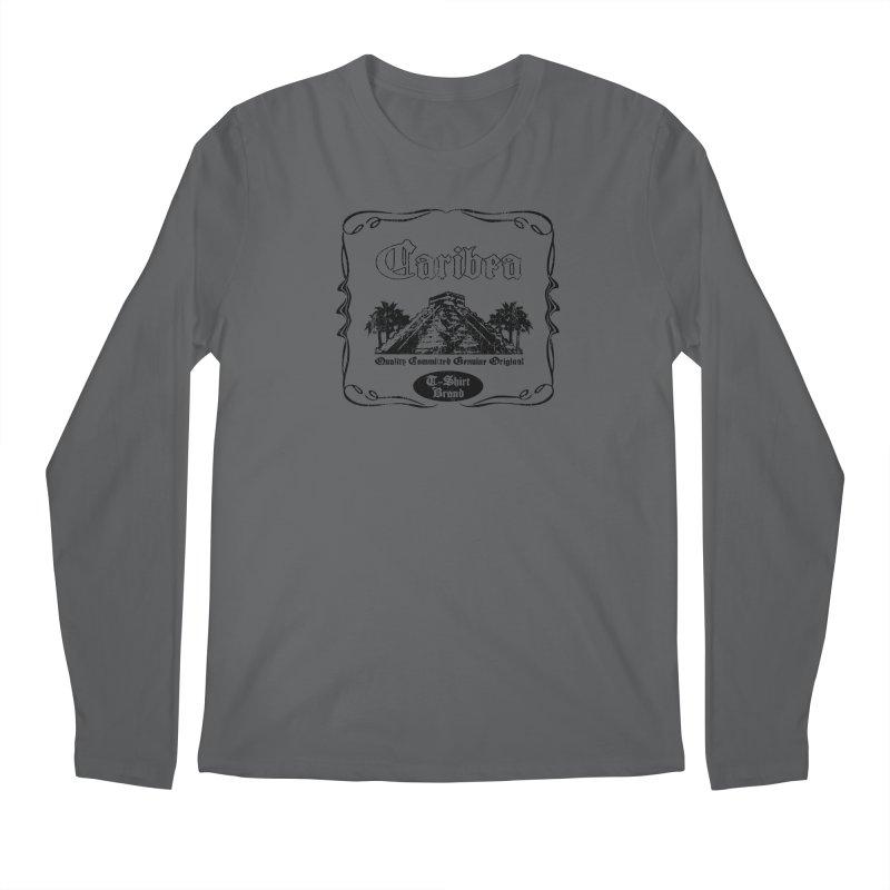 Mayan Pyramid Men's Longsleeve T-Shirt by Caribea