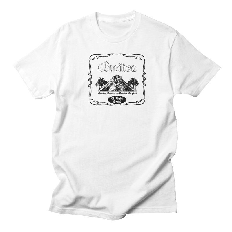 Mayan Pyramid Men's Regular T-Shirt by Caribea