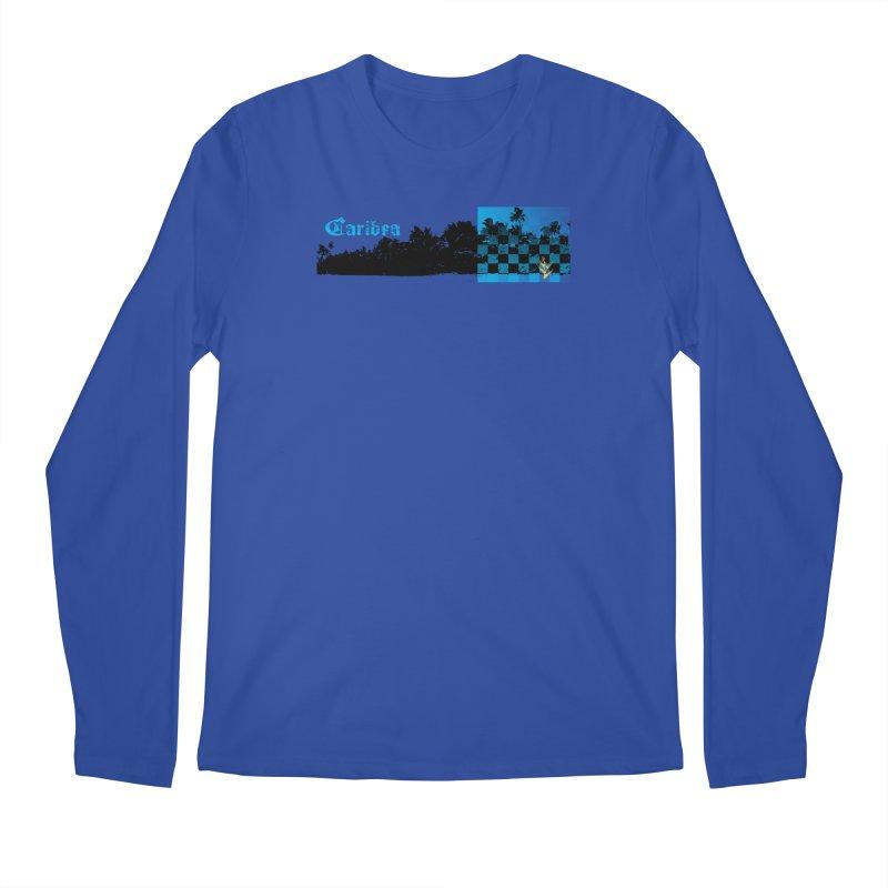 Night Beach Men's Regular Longsleeve T-Shirt by Caribea