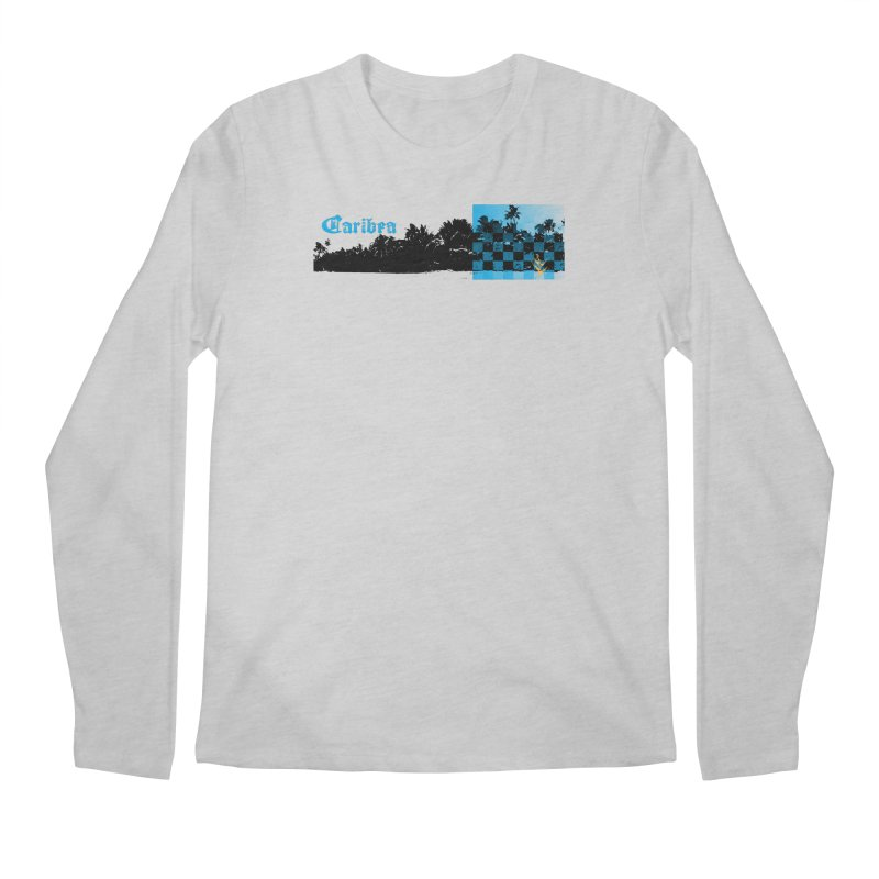 Night Beach Men's Regular Longsleeve T-Shirt by Caribea