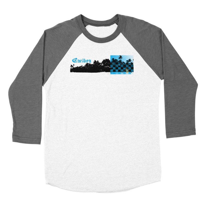 Night Beach Women's Baseball Triblend Longsleeve T-Shirt by Caribea