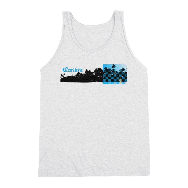 Night Beach Men's Triblend Tank by Caribea