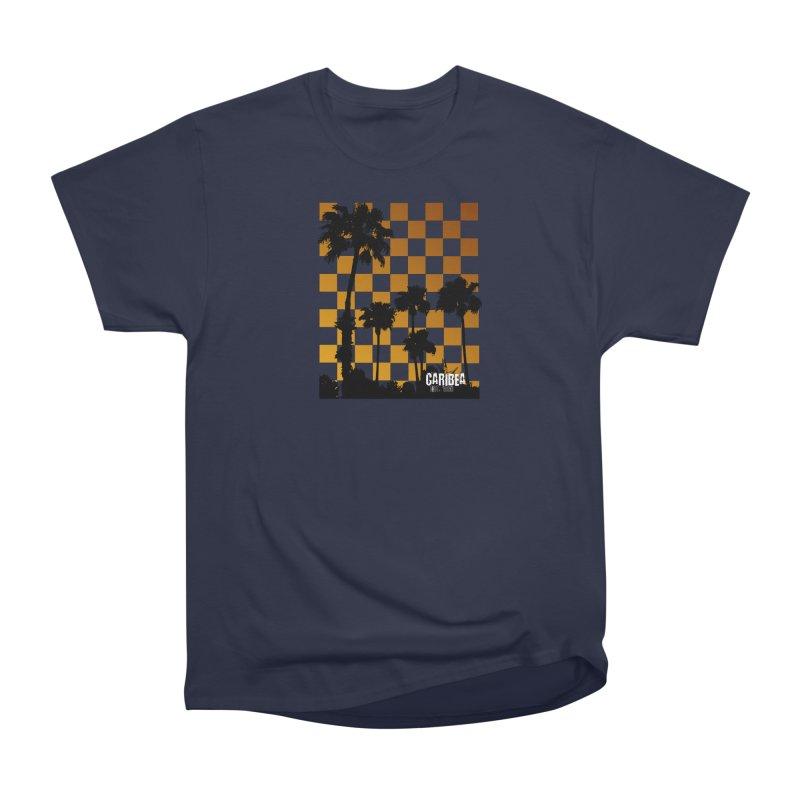 Sunset Palms Women's Heavyweight Unisex T-Shirt by Caribea