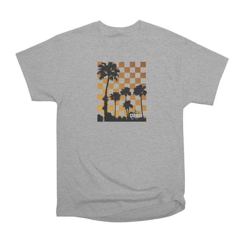Punk Palms Men's Heavyweight T-Shirt by Caribea