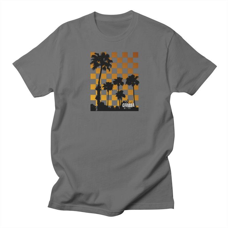 Punk Palms Men's T-Shirt by Caribea