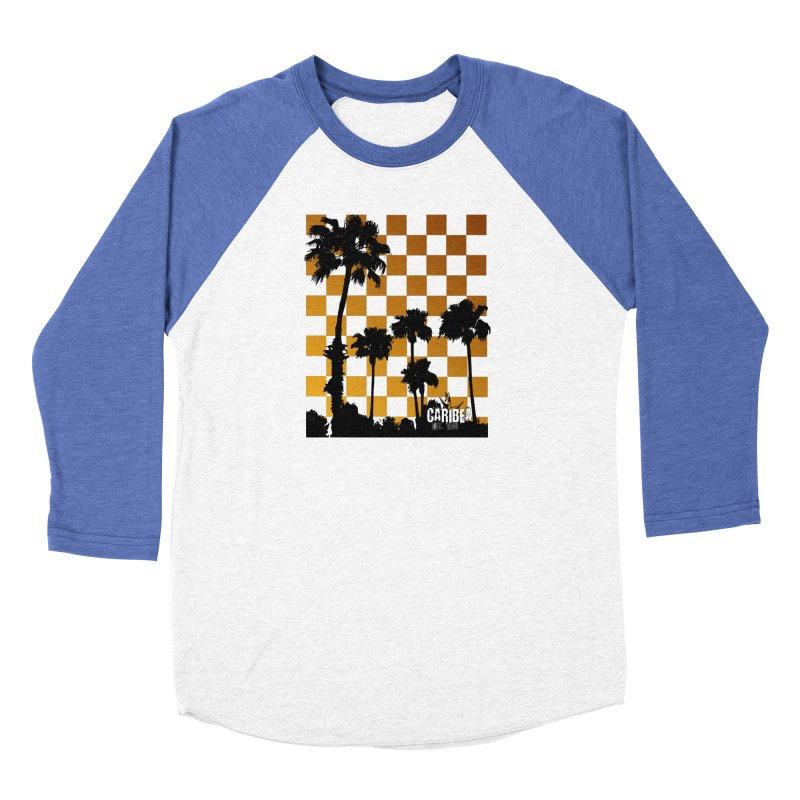 Punk Palms Women's Baseball Triblend Longsleeve T-Shirt by Caribea