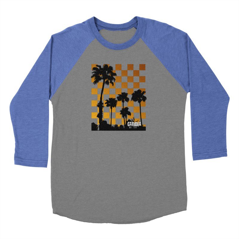 Punk Palms Women's Baseball Triblend Longsleeve T-Shirt by Caribea