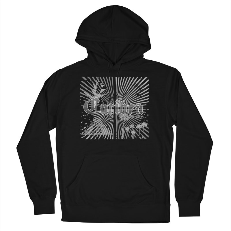 Mayan Squares Men's French Terry Pullover Hoody by Caribea