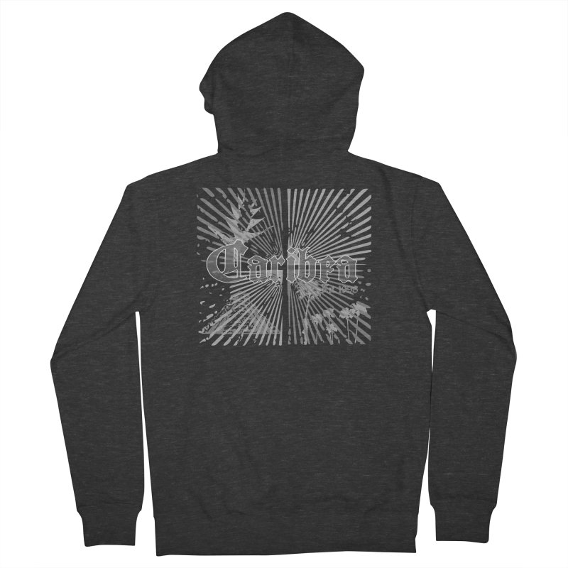 Mayan Squares Men's French Terry Zip-Up Hoody by Caribea