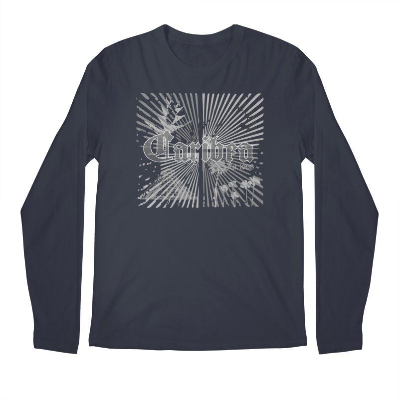 Mayan Squares Men's Regular Longsleeve T-Shirt by Caribea