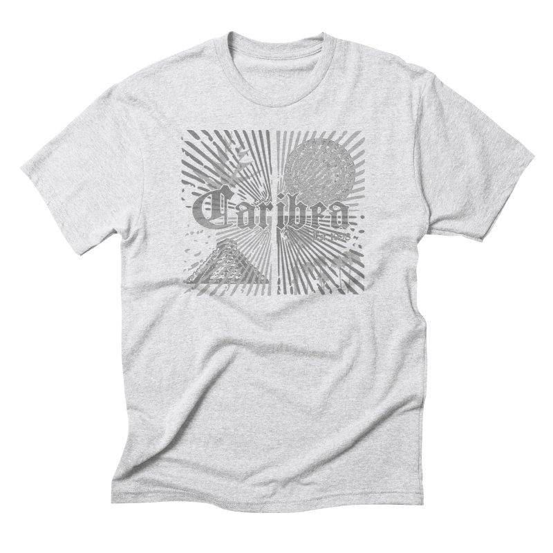 Mayan Squares Men's Triblend T-Shirt by Caribea
