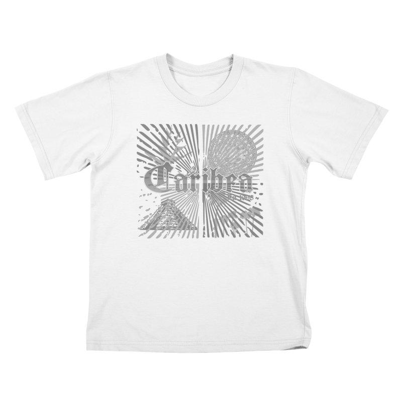Mayan Squares Kids T-Shirt by Caribea