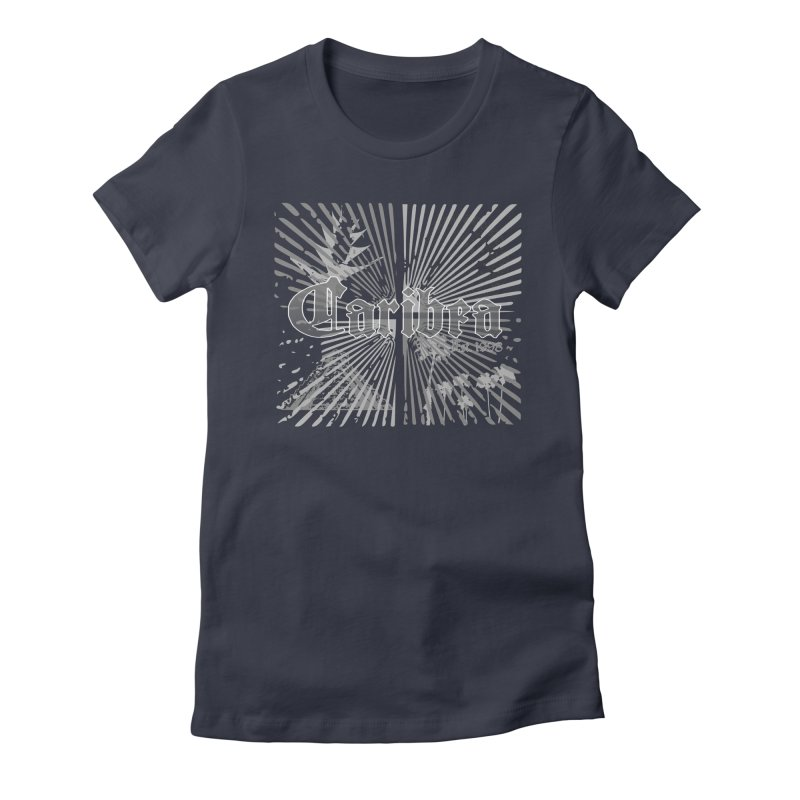 Mayan Squares Women's Fitted T-Shirt by Caribea