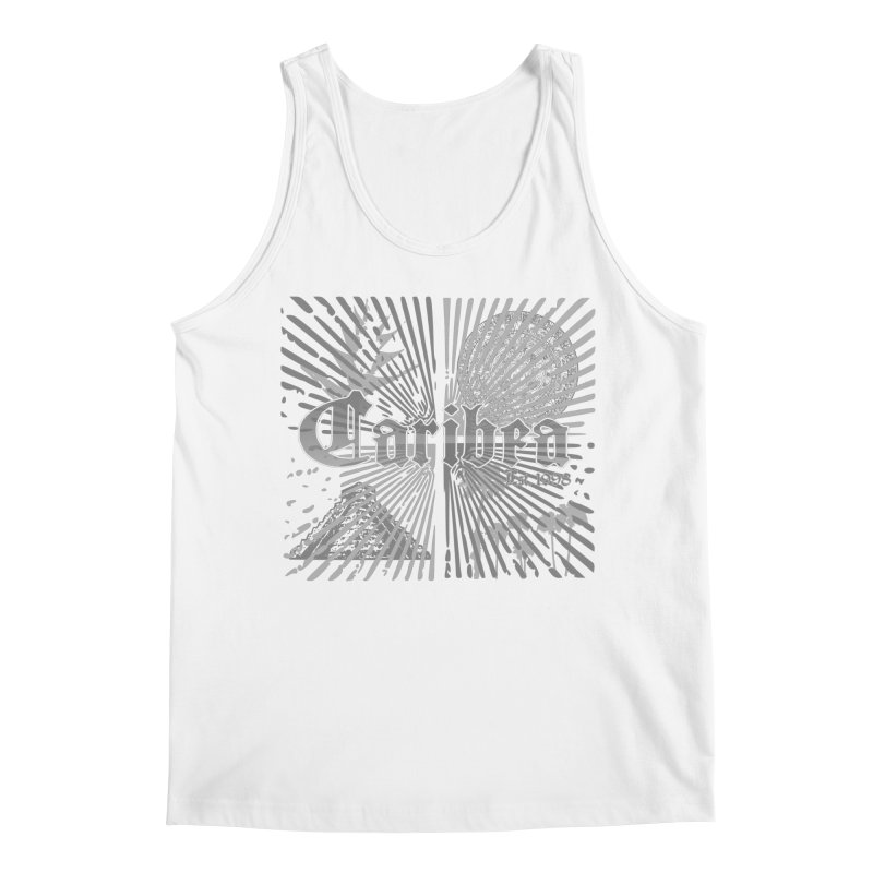 Mayan Squares Men's Regular Tank by Caribea