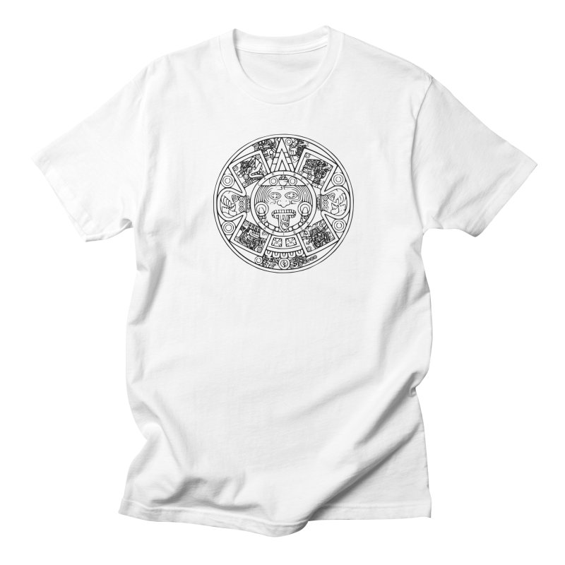 Sun God Black Men's Regular T-Shirt by Caribea