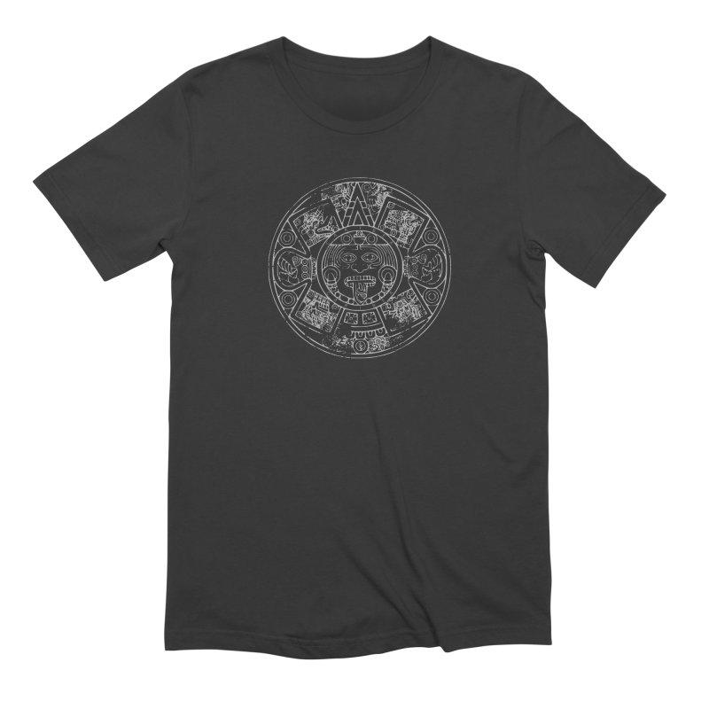 Sun God Gray Men's Extra Soft T-Shirt by Caribea