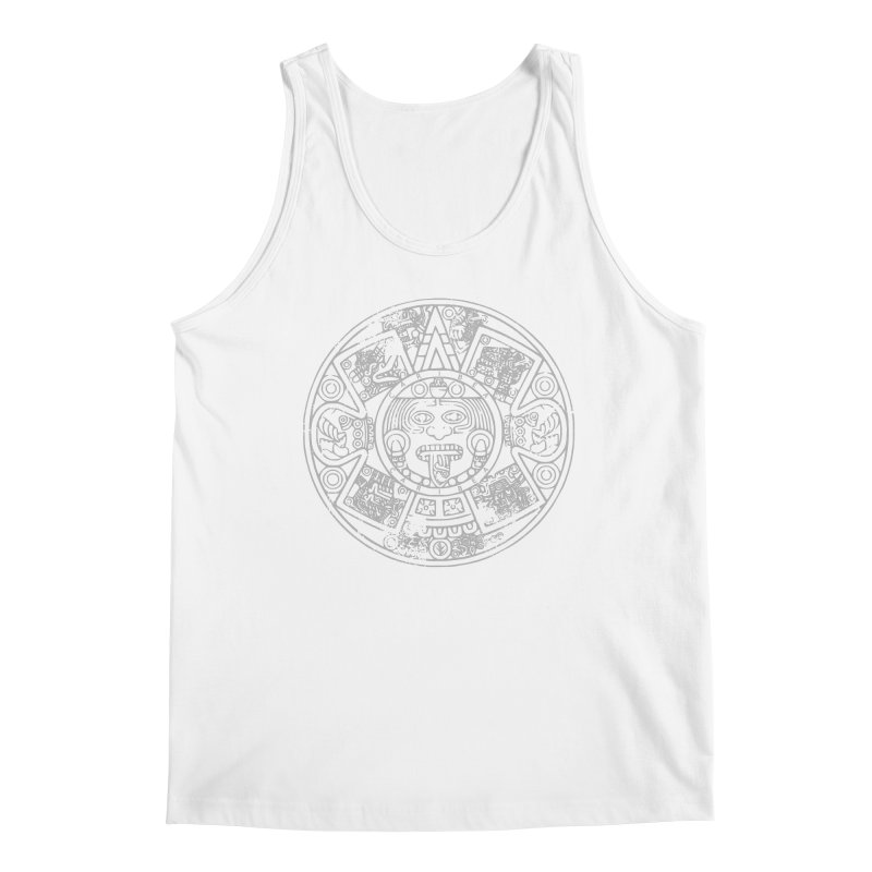 Sun God Gray Men's Regular Tank by Caribea