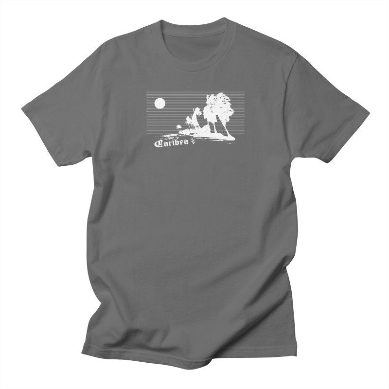Wind Beach White Women's T-Shirt by Caribea