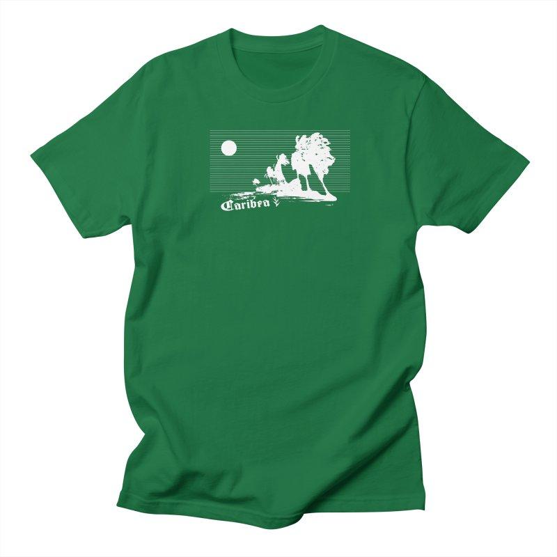 Wind Beach White Women's Regular Unisex T-Shirt by Caribea