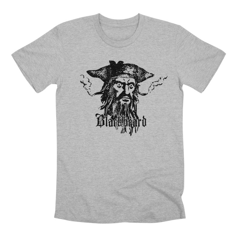 Blackbeard Men's Premium T-Shirt by Caribea