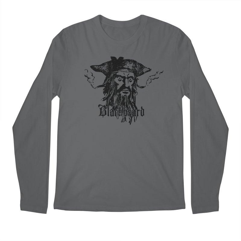 Blackbeard Men's Longsleeve T-Shirt by Caribea