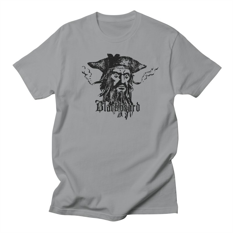 Blackbeard in Men's Regular T-Shirt Slate by Caribea
