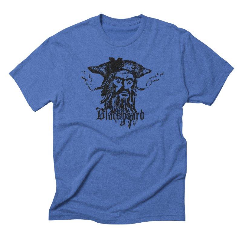 Blackbeard Men's Triblend T-Shirt by Caribea