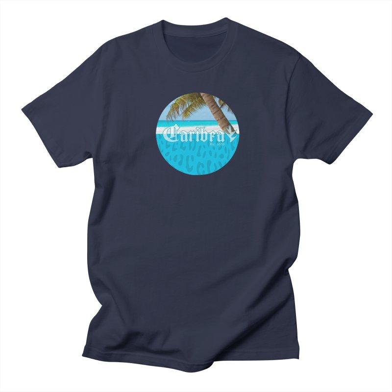 Animal Beach Blue Women's Regular Unisex T-Shirt by Caribea