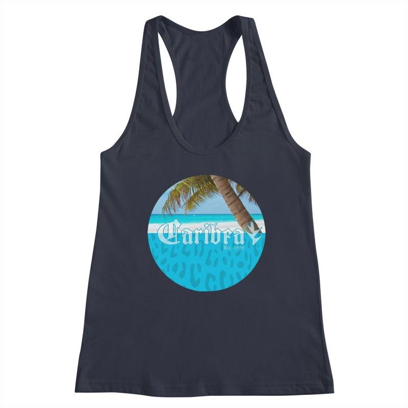 Animal Beach Blue Women's Tank by Caribea
