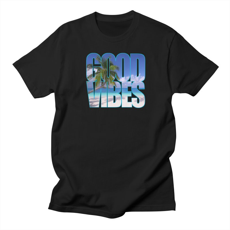 Good Vibes Men's T-Shirt by Caribea
