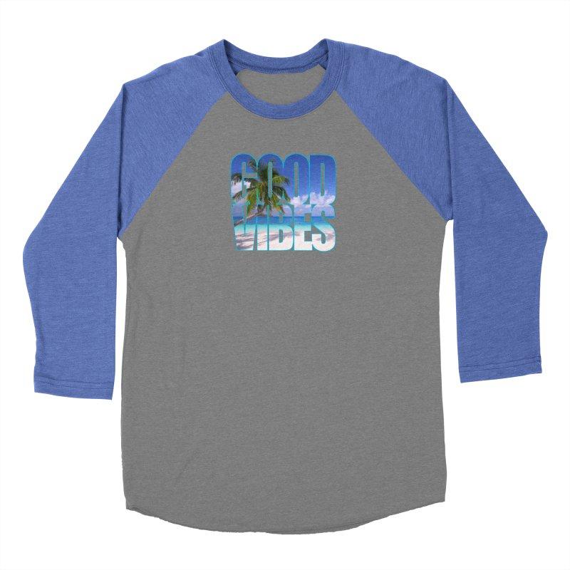 Good Vibes Women's Longsleeve T-Shirt by Caribea